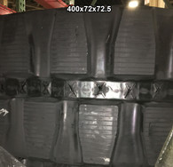(2-Tracks) Caterpillar Rubber Track 304CR 304 304.5 305 400x72x72.5 40072725