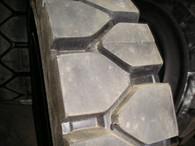 Power Trak 23x9-10 Solid forklift tires retreads 23910 23x9x10 23-9-10