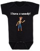 I have a Woody Baby Onesie, Woody baby onsie, Toy Story, There's a snake in my boot, punny baby gift, black