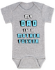 My Dad is a Mother Fucker Onesie, Funny offensive Baby Shower gift, daddy is a mother fucker