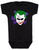 The Joker baby Onesie, Joker Halloween baby onsie, black