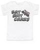 Bat Shit Crazy toddler shirt, Wild Child