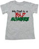 Bad Hombre Toddler shirt, my dad is a bad hombre, bad dude bad hombre, funny trump kid shirt, funny political toddler t-shirt, bad hombre kid shirt, grey