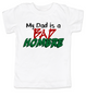 Bad Hombre Toddler shirt, my dad is a bad hombre, bad dude bad hombre, funny trump kid shirt, funny political toddler t-shirt, bad hombre kid shirt