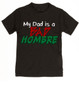 Bad Hombre Toddler shirt, my dad is a bad hombre, bad dude bad hombre, funny trump kid shirt, funny political toddler t-shirt, bad hombre kid shirt, black