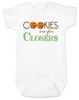 Cookies are for closers baby onesie, Boss Baby onesie, funny boss baby gift