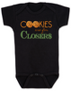 Cookies are for closers baby onesie, Boss Baby onesie, funny boss baby gift, boss baby halloween costume, black