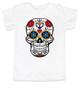 Dia de los Muertos toddler shirt, colorful sugar skull t-shirt, Day of the dead toddler shirt, Halloween kid shirt, white