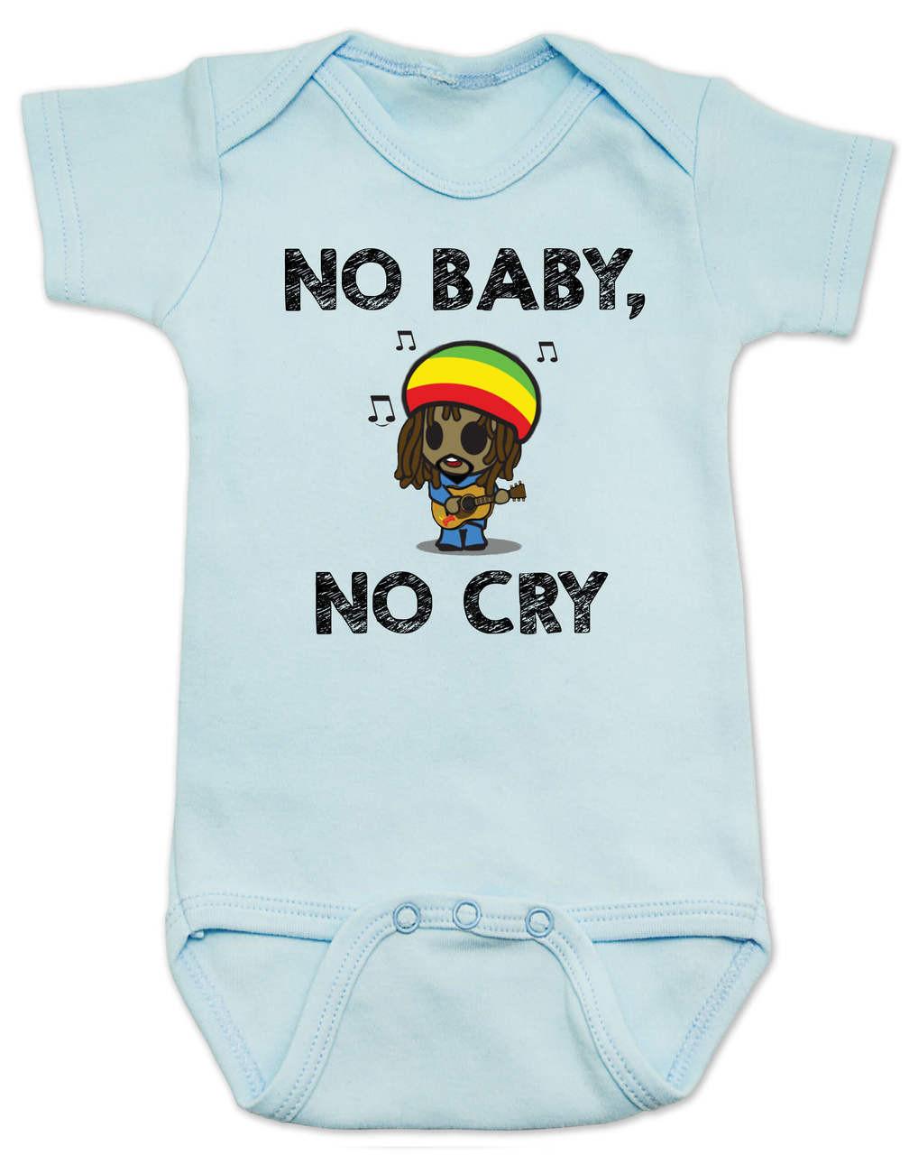 No Baby No Cry Bob Marley Baby esie