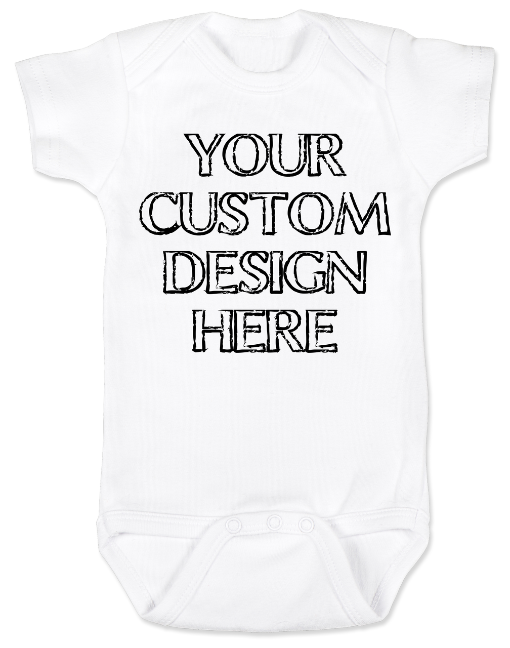Make your own custom baby onesie negle Image collections