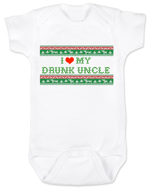 I love my drunk uncle personalized baby onesie i love my drunk uncle baby onesie funny uncle baby onesie funny baby gift negle Images