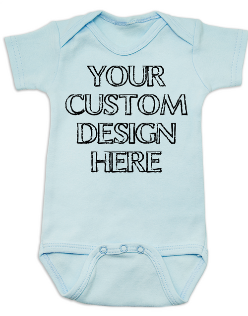 Make your own custom baby onesie design your own custom baby onesie create your own infant bodysuit personalized baby onsie negle Image collections