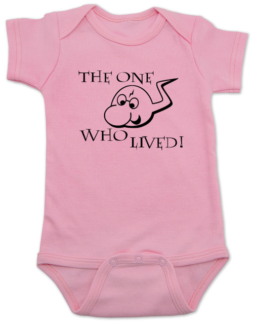 The One Who Lived - Harry Potter Baby Onesie