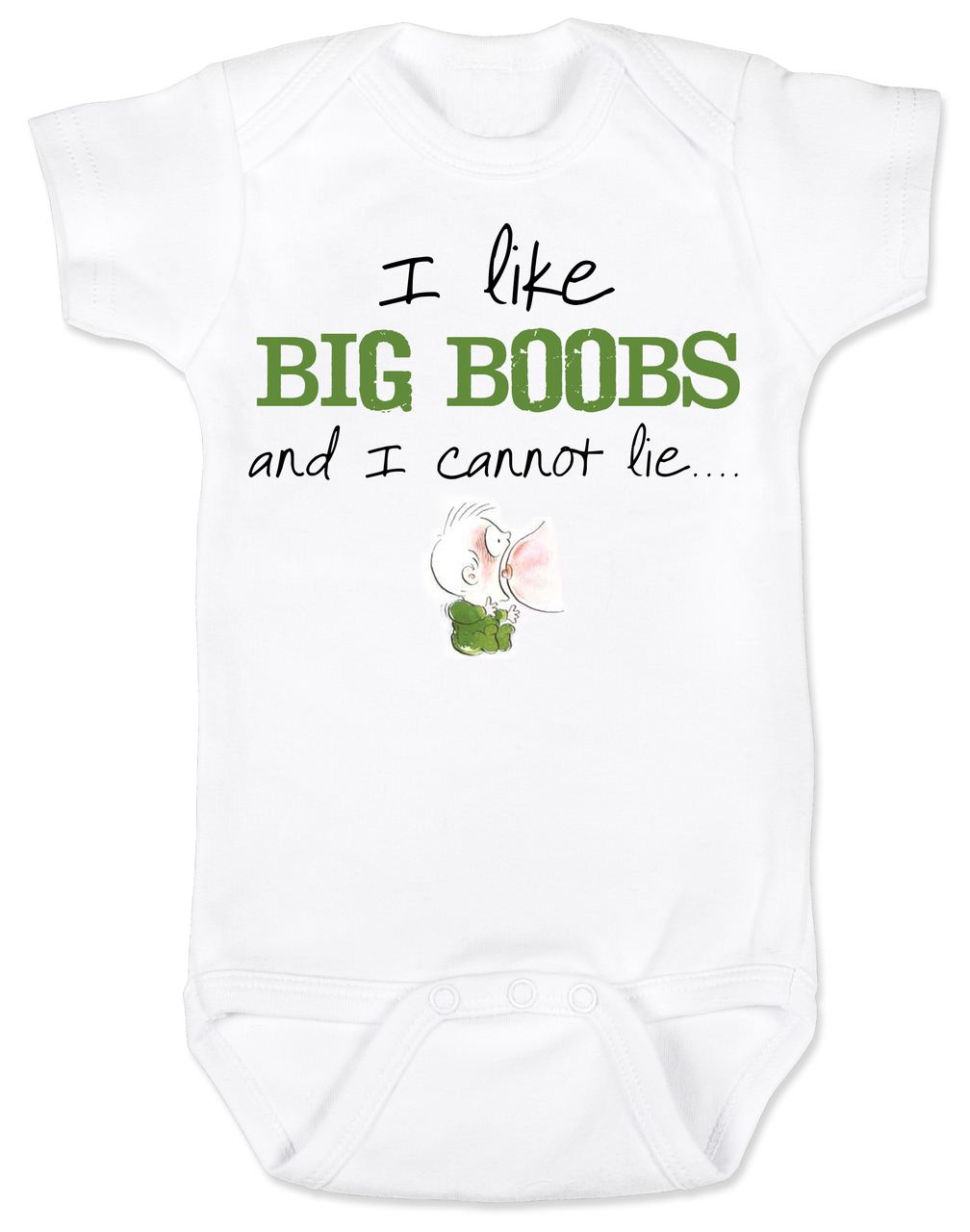 Uncategorized Onesie For Baby Shower i like big boobs baby onesie funny shower gag gifts unique gifts