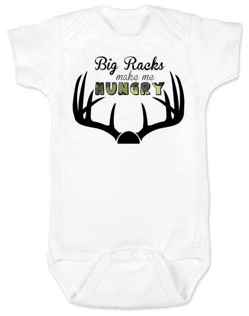 Big Racks Baby Onesie