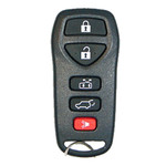 Nissan Keyless Entry Remote Transmitter. 5 Button Refurbished