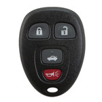 Replacement Keyless Entry Remote Key Fob for GM 4 Button 15252034