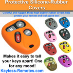 GM Keyless Entry Remote Cover - 4 button
