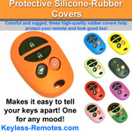 Toyota Keyless Remote Rubber Cover 4 Button