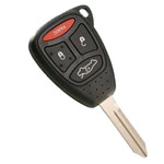 Chrysler Dodge Jeep Key Remote Combo 4 Button