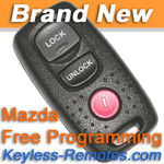 Mazda Keyless Entry Remote 3, 5, and Protege New