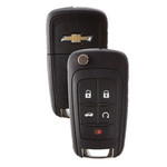 Chevrolet PEPS Remote Key 5 Button