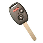 Honda Insight 3 Button Key Remote Combo