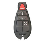Refurbished Genuine OEM Chrysler Keyless Remote Key Fob FOBIK NON-PROX 4 Button Auto Start