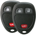 2 Keyless Entry Key Remote Fobs for GM, Chevrolet, and GMC 15913420 3-button