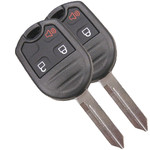 2 Remote Head Keyless Remotes and Key Fob for Ford