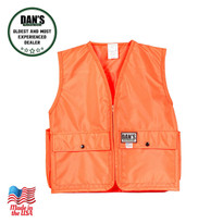 Dan's Hunting Gear - K411 - Kid's Blaze Orange  Vest | Windwalker Outdoors in Montana