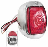 LED TAIL LIGHT ASSEMBLY ALL STAINLESS HOUSING RH 1940 - 1953