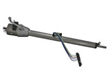 67-72 Flaming River Tilt Steering Column Automatic Column Shift Paintable Mill Finish with Neutral Safety Switch at 17""
