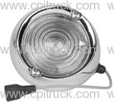 BACK UP LIGHT ASSEMBLY CHROME  CHEVROLET GMC FLEETSIDE TRUCK 1960 - 1966