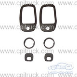 DOOR HANDLE AND LOCK GASKET SET CHEVROLET GMC TRUCK 1967 - 1972
