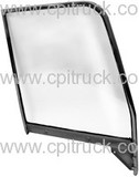 DOOR WINDOW FRAME WITH GLASS PAINTABLE LH CHEVROLET TRUCK 1955 - 1959