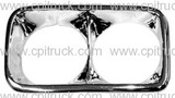 HEADLIGHT BEZEL CHROME LH GMC CHEVROLET TRUCK 1969 - 1972