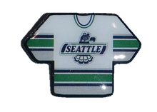 Seattle Thunderbirds Jersey Lapel Pin