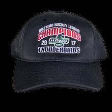 WHL CHAMPIONS ADJUSTABLE HAT BLACK