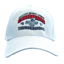 WHL CHAMPIONS FLEX FIT HAT WHITE