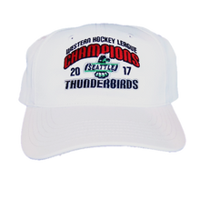 WHL CHAMPIONS ADJUSTABLE HAT WHTIE