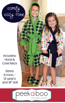 Comfy Cozy Robe PDF Sewing Pattern