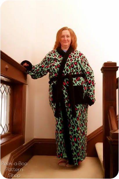 Riverside Robe Peek A Boo Pattern Shop