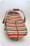 Lullaby Line Car Seat Cover sewing pattern