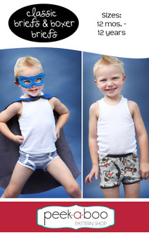 Classic Briefs and Boxer Briefs PDF Sewing Pattern
