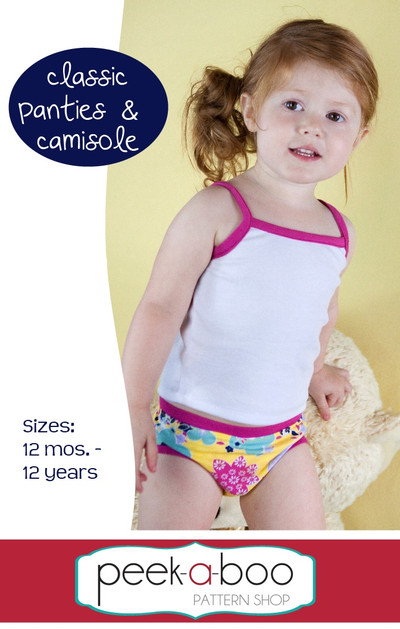 Classic Panties & Camisole PDF Sewing Pattern