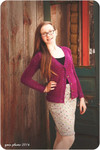 Piper pencil skirt sewing pattern