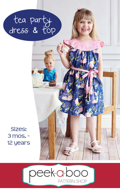 Tea Party Dress & Top Sewing Pattern