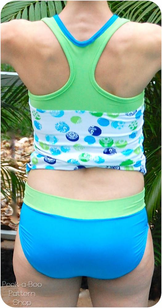 Bahama Mama Bikini Bottoms Peek A Boo Pattern Shop