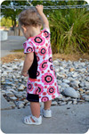 Violet tunic and dress sewing pattern
